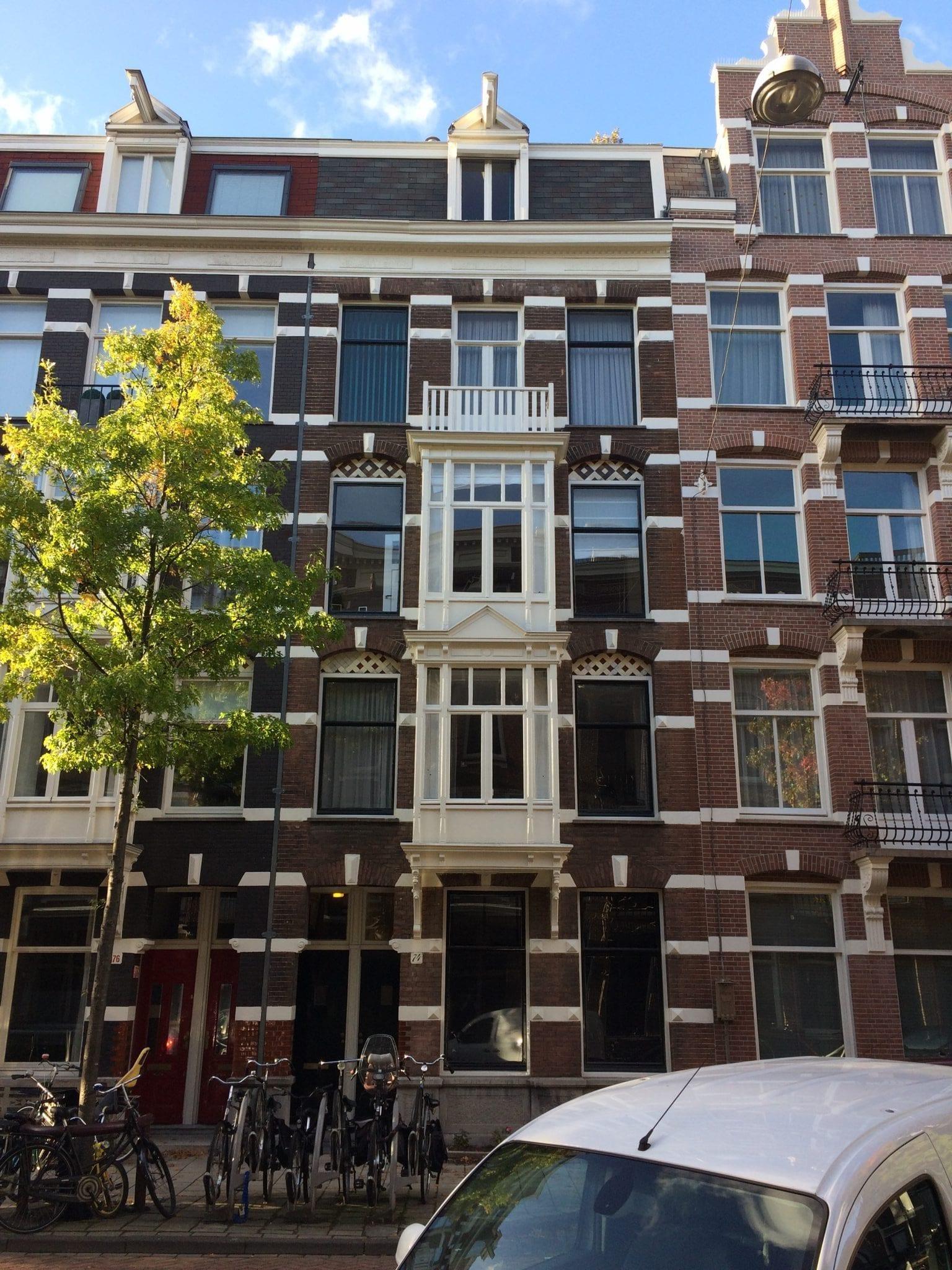 Verbouw en renovatie woning Derde Helmersstraat te Amsterdam