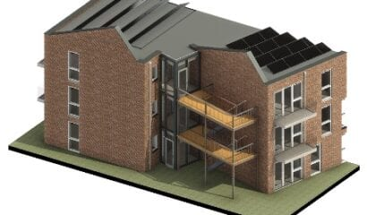Advisering project Estinea 22 nieuwbouwappartementen